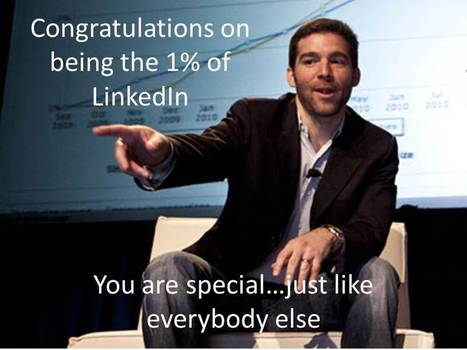 20 Million LinkedIn Users Fell for the Top 10% Marketing Scheme   Trends, directions, future...   Scoop.it