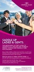 Melbourne Cup Party Events | Crowne Plaza Adelaide | Fave Products and Resources | Scoop.it