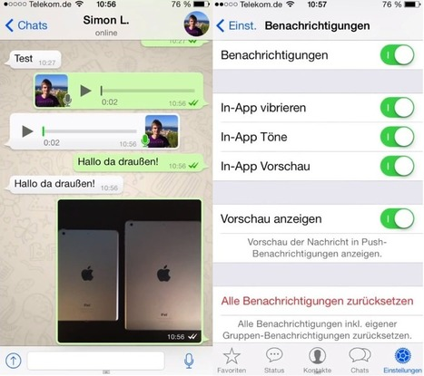 Whatsapp para iOS 7 se vuelve a dejar ver, ahora en video. - Tus Tutoriales | tecnología | Scoop.it