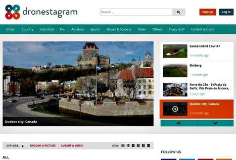 Dronestagram: vídeos e imágenes capturadas desde drones | AsesoriaWeb20 | Scoop.it