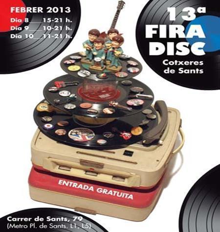 13 Fira del Disc coxeres de Sants #Barcelona | Actualitat Musica | Scoop.it