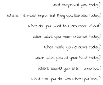 8 Reflective Questions To Help Any Student Think About Their Learning - | La didactique au collégial | Scoop.it