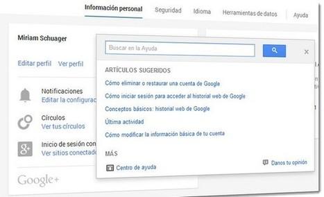 Ahora es más simple gestionar nuestra cuenta de Google | Marketing Digital | Scoop.it