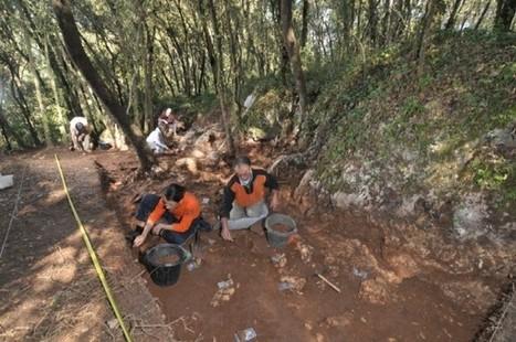 Se confirma que el molar hallado en la Cova de Mollet, en Serinyà, hace 215.000 años, es el resto humano más antiguo descubierto en Cataluña | Aux origines | Scoop.it