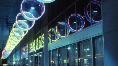 Light sculpture by Michael Hayden to shine again in downtown L.A. | Art Installations, Sculpture, Contemporary Art | Scoop.it