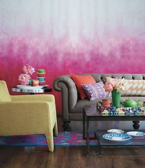Tie Dye Walls - Home Decorating Trends   The Latest for Home & Kitchen   Scoop.it