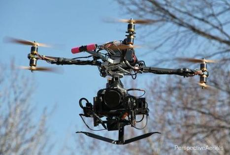 Shooting Aerial Imagery with a Canon 1D C Cinema DSLR on a Drone Rig - PetaPixel | DSLR video and Photography | Scoop.it