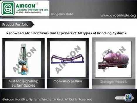 Material Handling Systems Manufacturers India | Material handling Systems | Scoop.it