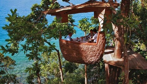 Dine in a floating tree pod in Thailand - When On Earth - Places to See, Things to Do, Gear to Get | rock climbing | Scoop.it