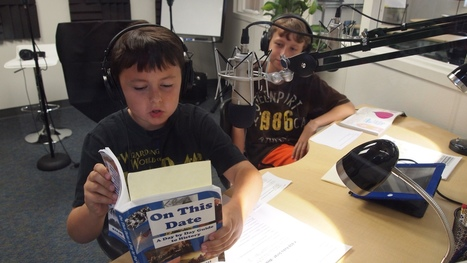 How to make a student iPad podcasting studio | Ideas for Integrating Technology K-6 | Scoop.it