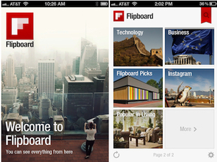 Flipboard Has 5 Million Users, iPhone App Gets Million Downloads in First Week | Little things about tech | Scoop.it