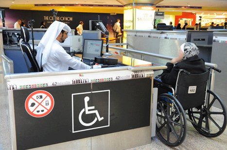 GDRFA-Dubai introduces special services for disabled passengers at airportsUAE - The Official Web Site - News | Accessible Travel | Scoop.it
