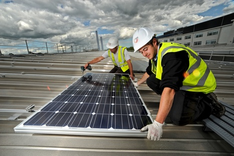 Businesses now generating £80m of onsite renewable energy a year | ProcurementGroup | Scoop.it