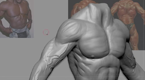 "How to sculpt detailed muscles in Zbrush Tutorial | AVCGI 360 | Animated Clip : MR. PEABODY & SHERMAN – ""Shermanus"" 