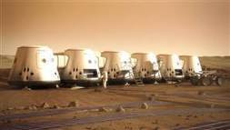 Mars colony backer would send crews every two years | Skylarkers | Scoop.it