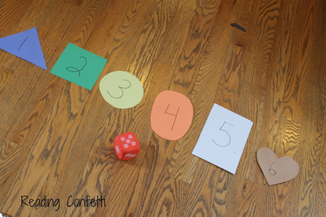 Reading Confetti: 5 Simple Games for Teaching Number Recognition | Jardim de Infância | Scoop.it