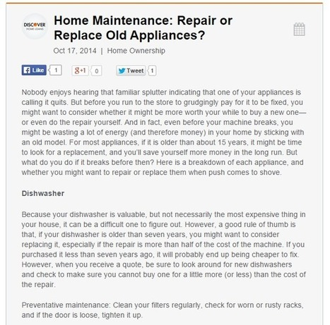 It May be Cheaper to Repair a Winston-Salem, NC HVAC System than Replace it | Advanced Appliance Service Inc. | Scoop.it