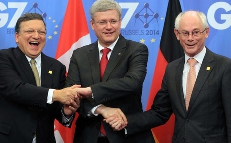 """""""L'accord UE-Canada est un brouillon du traité transatlantique""""   Libertés Numériques   Scoop.it"""