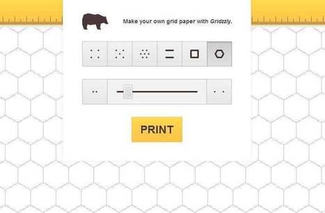Papiers à grille, Gridzzly | Les Infos de Ballajack | Les outils d'HG Sempai | Scoop.it