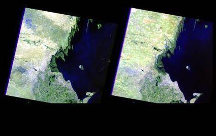Rising Water Changes Caspian Shoreline | Remote Sensing News | Scoop.it