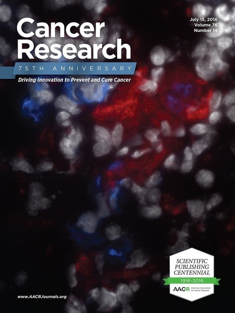 Tissue Factor Induced by Epithelial–Mesenchymal Transition Triggers a Procoagulant State That Drives Metastasis of Circulating Tumor Cells | from Flow Cytometry to Cytomics | Scoop.it