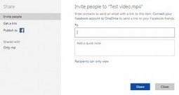 OneDrive Makes Sharing Easy   Cloud Storage is better for File Sharing   Scoop.it