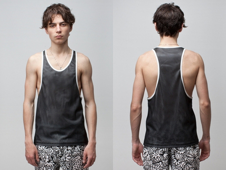 Sir New York Duo Layer Mesh Ace Hitter Tank | New, Independent & Emerging Fashion | Scoop.it