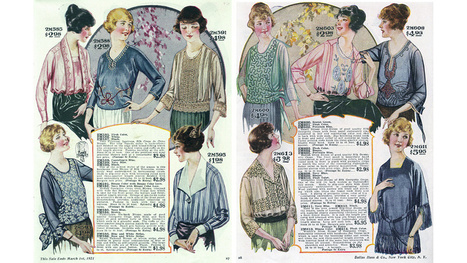 Let's Shop For Blouses in the 1920s - Jezebel | Vintage and Retro Style | Scoop.it