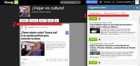 Curación de contenidos con Scoop.it. paso a paso, parte II. | Scoop.it en la Red | Scoop.it