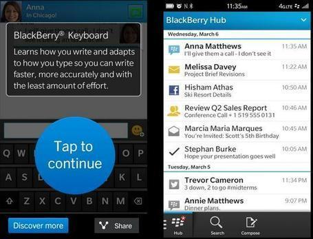 Feel the BlackBerry 10 on Your Android Phone or iPhone | Android tablets | Scoop.it
