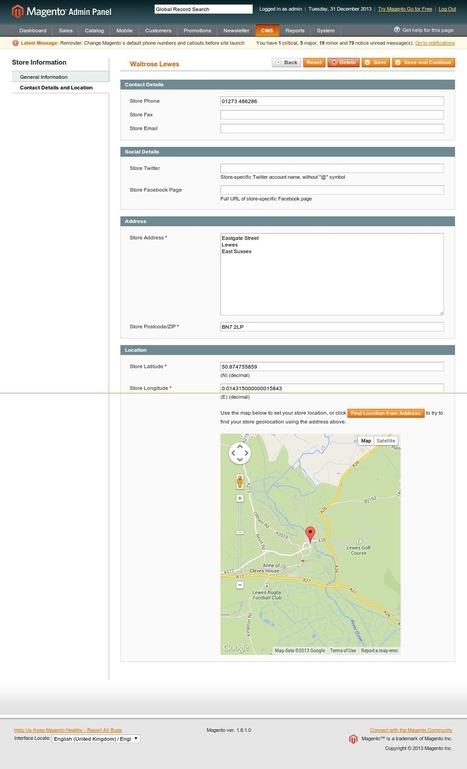 Store Locator for Magento - Web Development in Brighton - Added ...   E-Commerce Development , e Commerce Web Solutions   Scoop.it