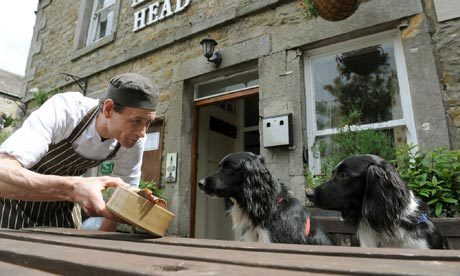 The pub that's proud to serve up dogs' dinners | Life and style | The Guardian | Food for Pets | Scoop.it