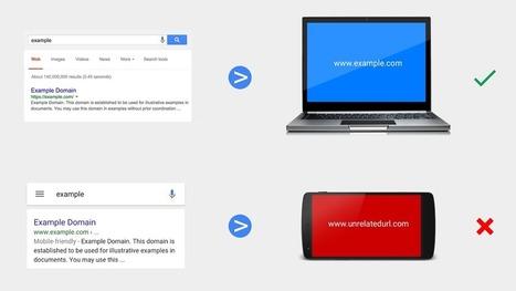 Google et les redirections trompeuses sur mobile - Actualité Abondance | Mobile Development | Scoop.it