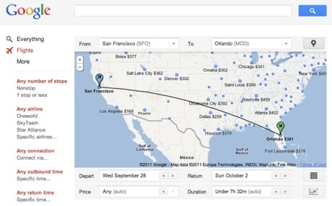 How is Google Flight Search performing so far? Go on, have a guess | information technology & tourism | Scoop.it