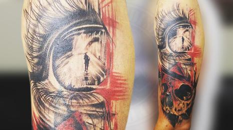 Eye & Skull Tattoo in Realistic Trash Polka Type Tattoo   Black Poison Tattoos   Scoop.it