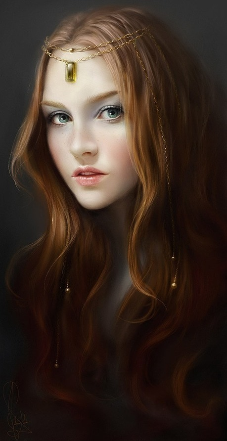 Awesome Digital Portraits by Melanie Delon | #Design | Scoop.it