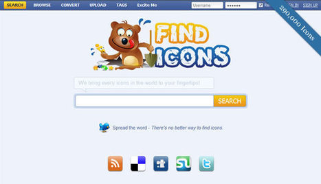 Top 10 Icon Search Engines and Libraries - Speckyboy Design Magazine | Lectures web | Scoop.it
