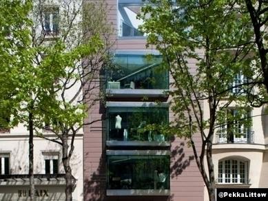 Pekka Littow, une architecture porte-parole pour prêt-à-porter - Le Courrier de l'Architecte | The Architecture of the City | Scoop.it