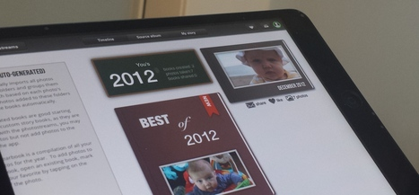 Tapsbook for iPad taps photos from your camera-roll and cloud storage and turns them into albums | Website and App for PC and iPad | Scoop.it