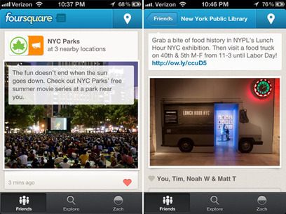 Introducing Local Updates from businesses – keeping up with the places you love has never been easier!   Foursquare Blog   Digital-News on Scoop.it today   Scoop.it