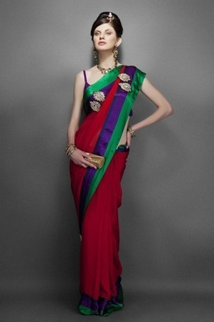 WHAT MAKES A GOOD SAREE BETTER | zarilane | Scoop.it