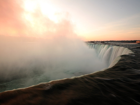 Beautiful Sunrise at Niagara Fall - Photo by National Geographic | Travel Photography | Scoop.it