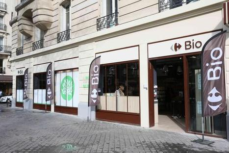 Carrefour lance son premier magasin 100% bio à Paris | Vegactu - végétarien, végétalien et végan | Scoop.it