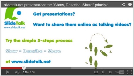 SlideTalk - turn your presentations into engaging talking videos | 21 century education | Scoop.it