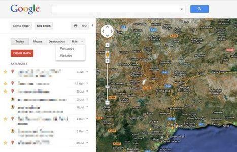 My Places, lo nuevo de Google Maps | WEBOLUTION! | Scoop.it