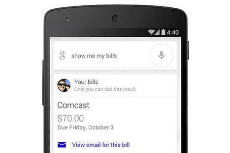 Google Can Read Your Emailed Bills and Remind You to Pay Up | Mobile Threats | Scoop.it
