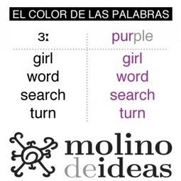 """Colour Trick para el aula: Del """"listen and repeat"""" al color de las palabras   Crónicas del Molino   ELE Spanish as a second language   Scoop.it"""