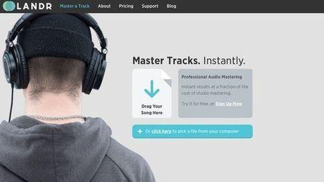 Bon plan : Testez gratuitement l'offre pro de LANDR, service de mastering en ligne | Agence BWA - Veille | Scoop.it