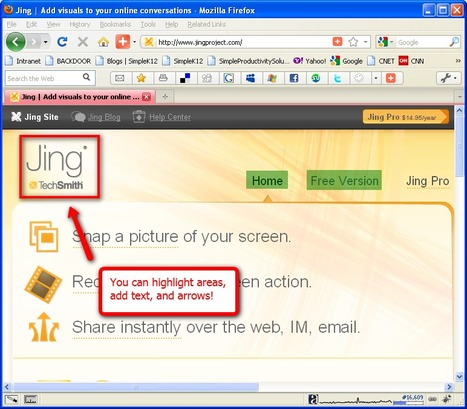 How to use Jing in your classroom | Technology and language learning | Scoop.it