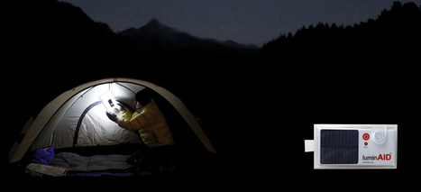 LuminAID | Solar-Powered Inflatable Light | Transición | Scoop.it